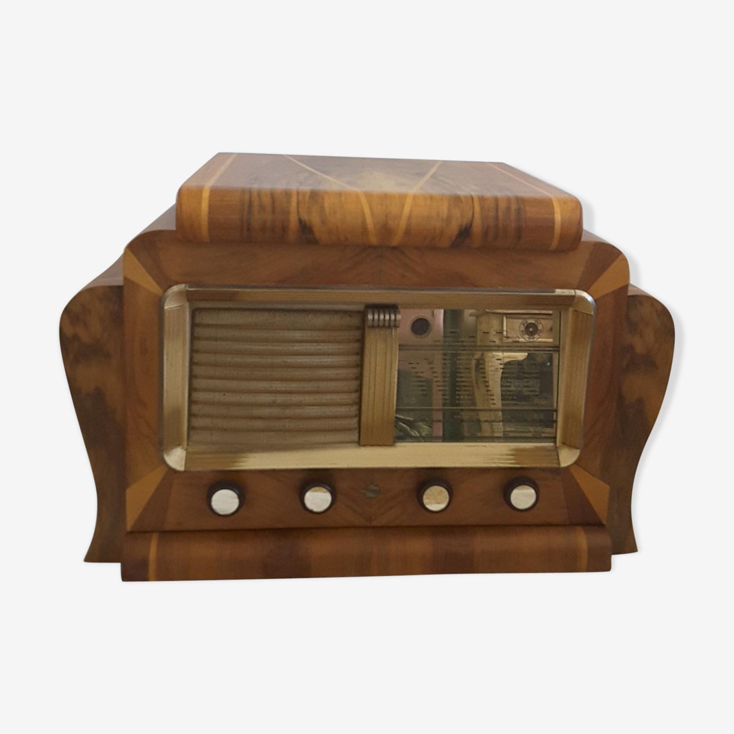 Poste radio avec platine vinyle