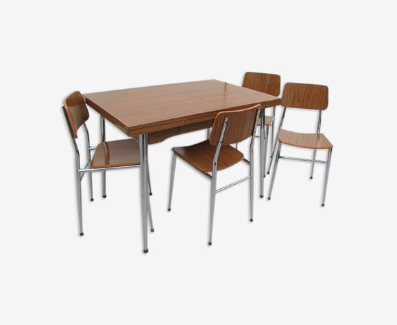 Table et ses assorties formica chaises 4 formica en uJ3lKTFc1
