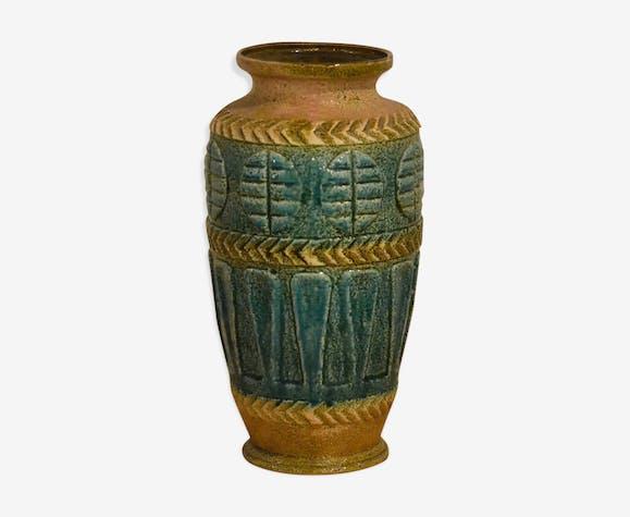 Vase West Germany vert