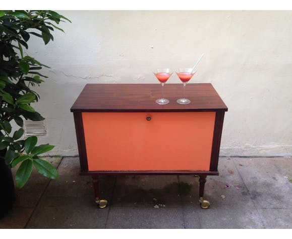 Petit Meuble De Bar Retro Vintage Renove Selency