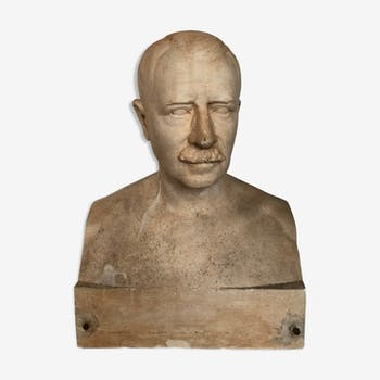 André Lavaysse: Bust of a man in a flat