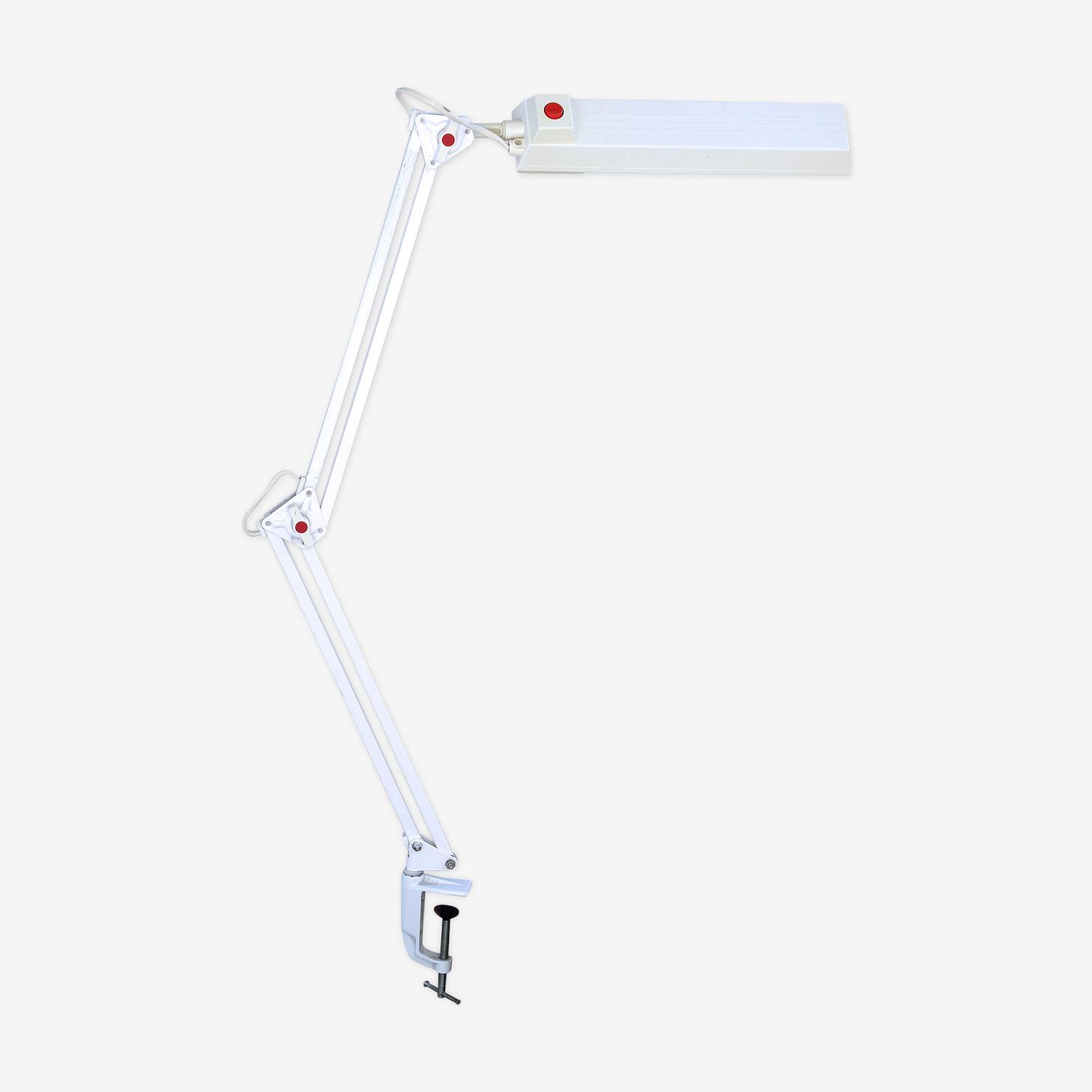"Lampe articulée Philips Finland ""blanc 1970 """