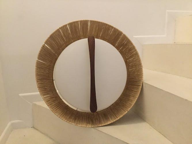 Suspension années 60 Temde design scandinave d'époque