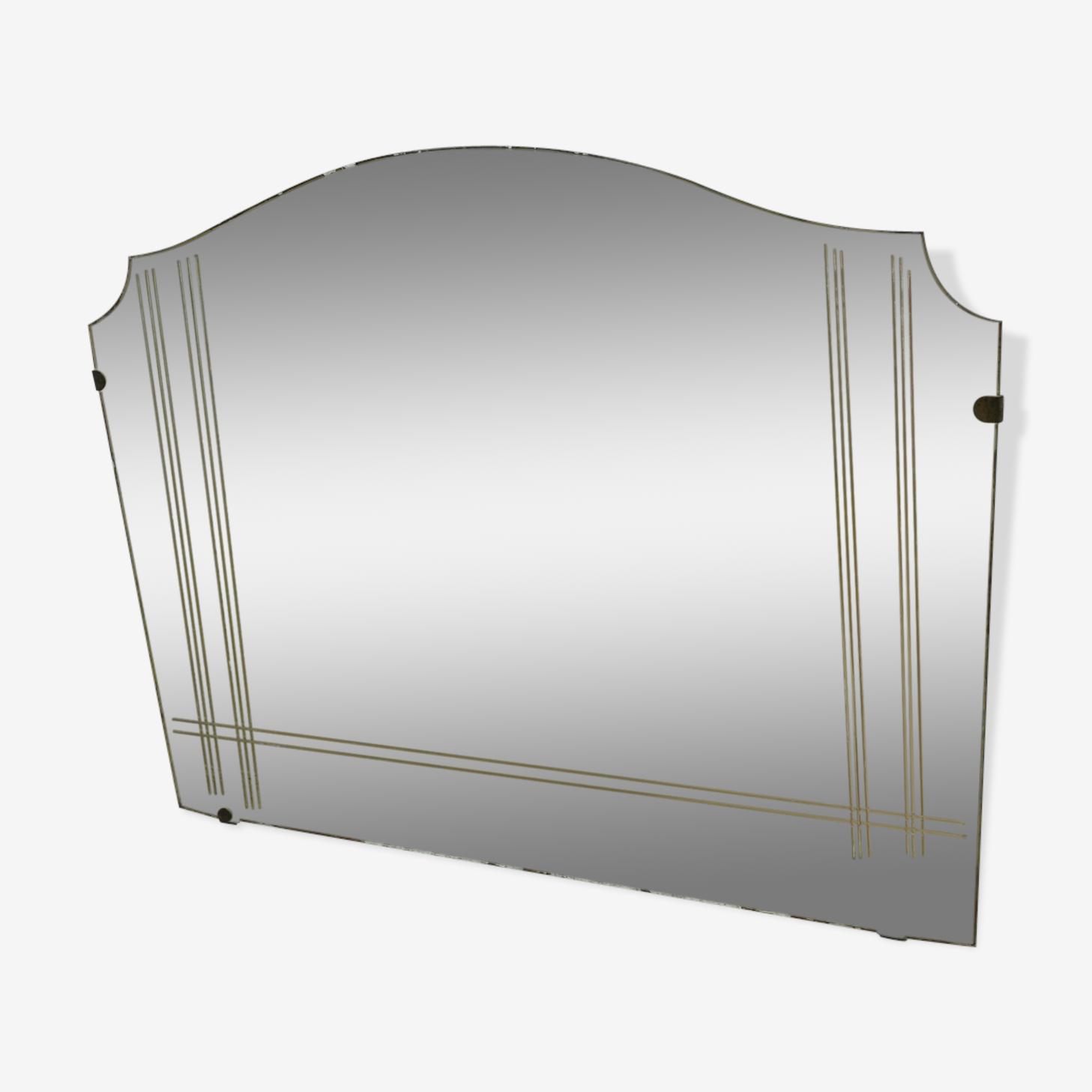 Miroir des années 60 - 42x60cm