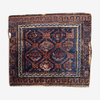 Former carpet Afghan Baluch face bag made hand 54cm x 62cm