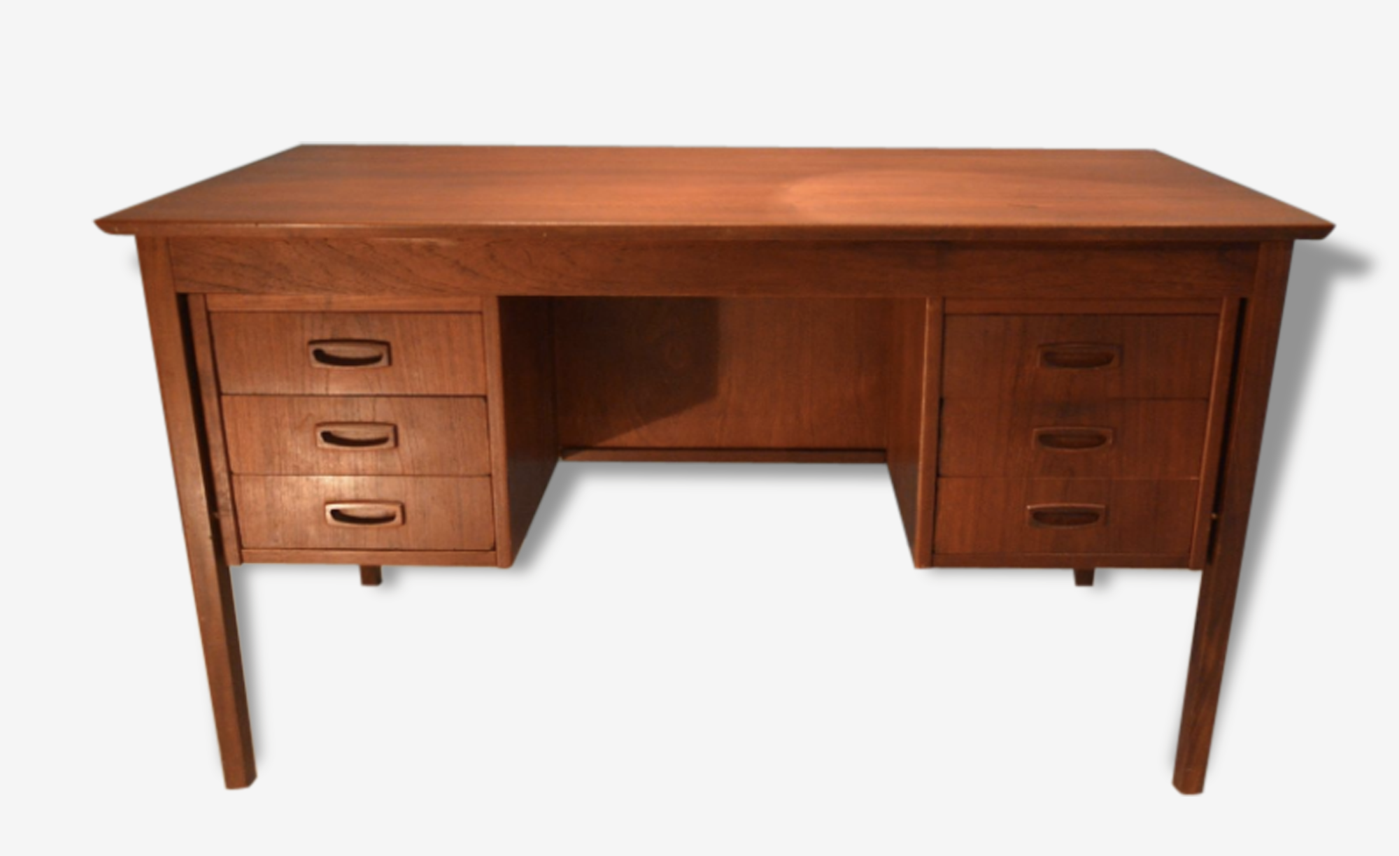 Bureau à Double-Face Scandinave, 1960s