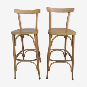 Paire de chaises de bar vintage  70/80