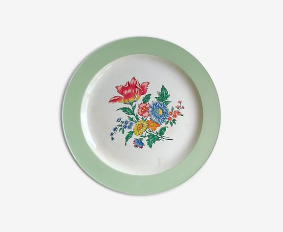 Flat villeroy and boch, Rosario, green mint 50 years