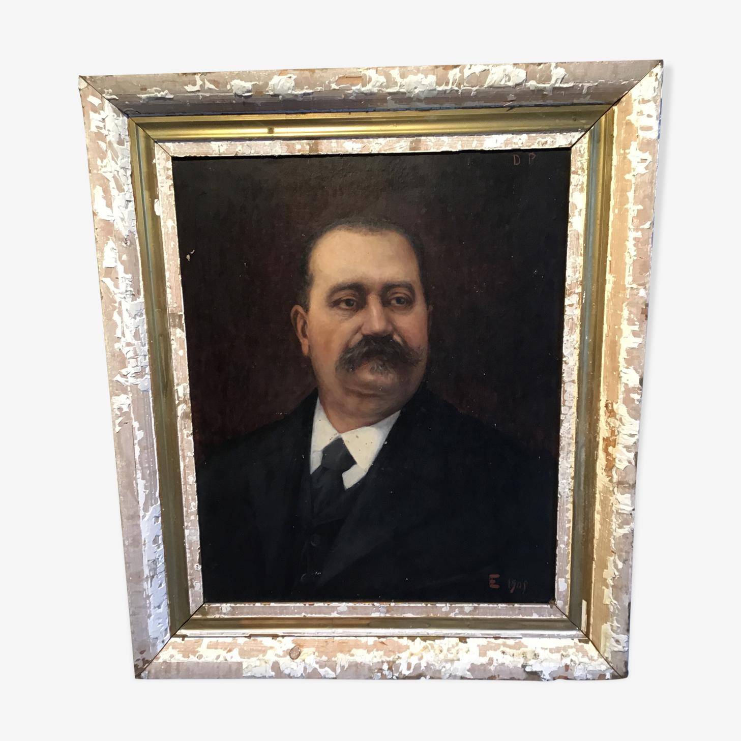 Man portrait 1906