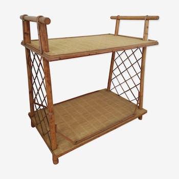 Rattan table 70