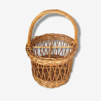 Basket Wicker bottle