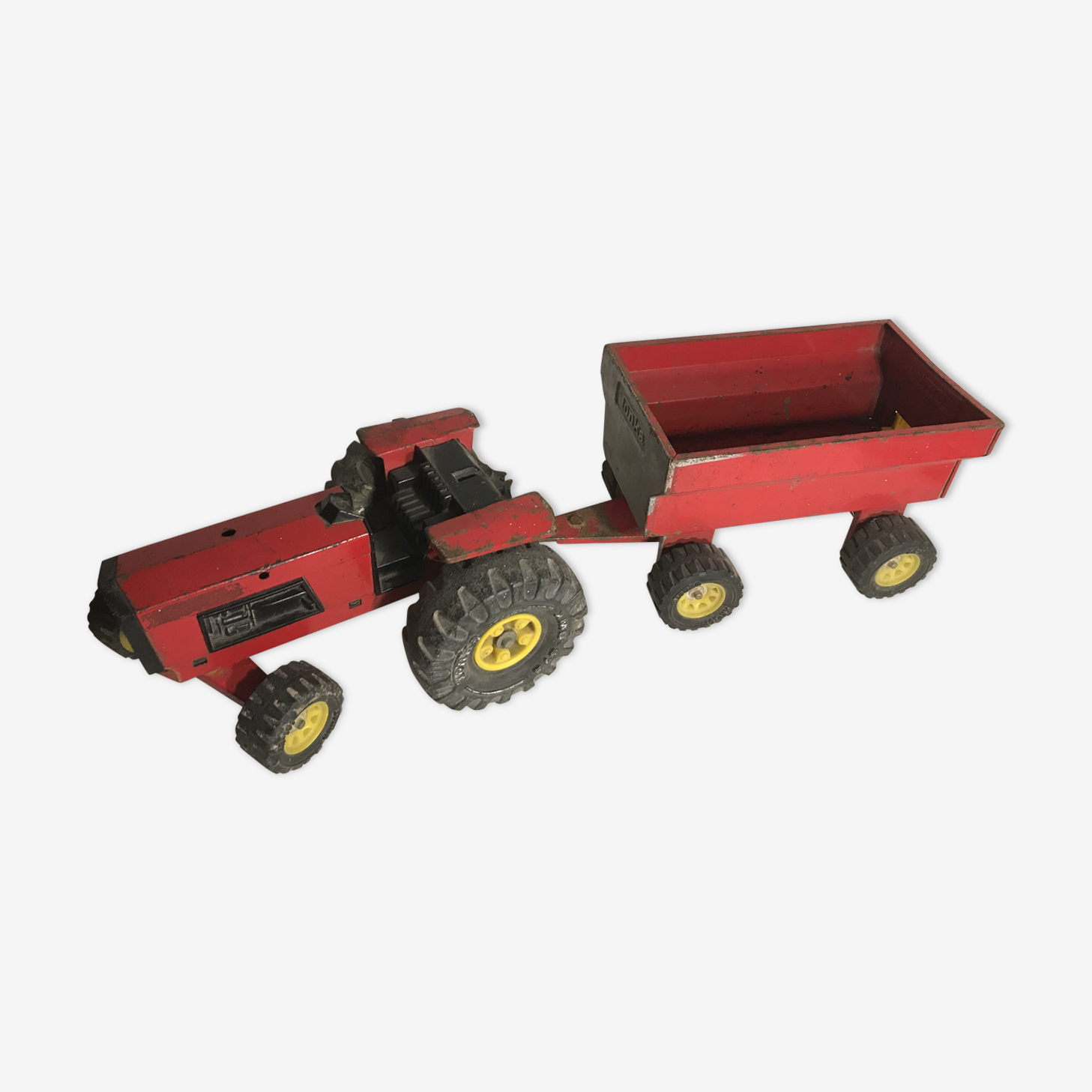 Old tonka tractor toy