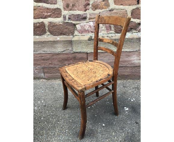 Paire de chaise d'atelier