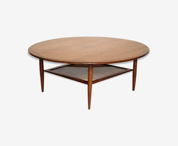 wood ronde Table rose de en avec porte basse bois revues v80NwOmn