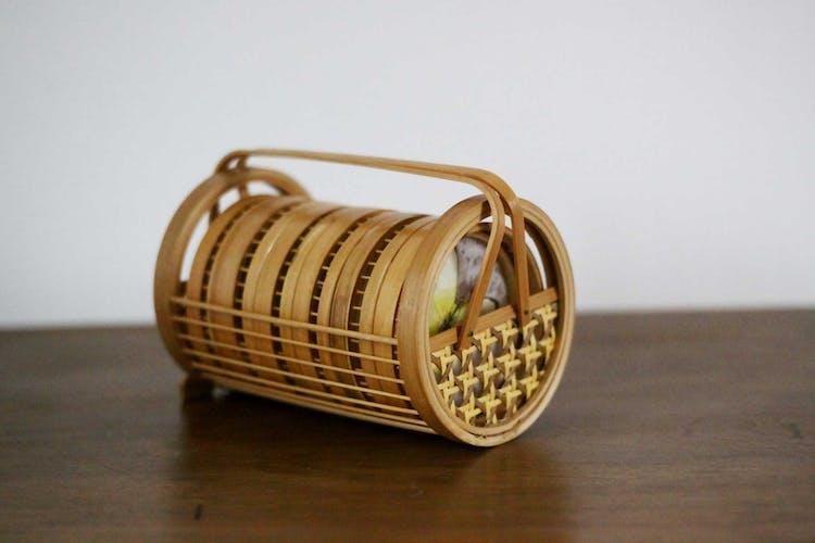 Lot de sous verres en bambou