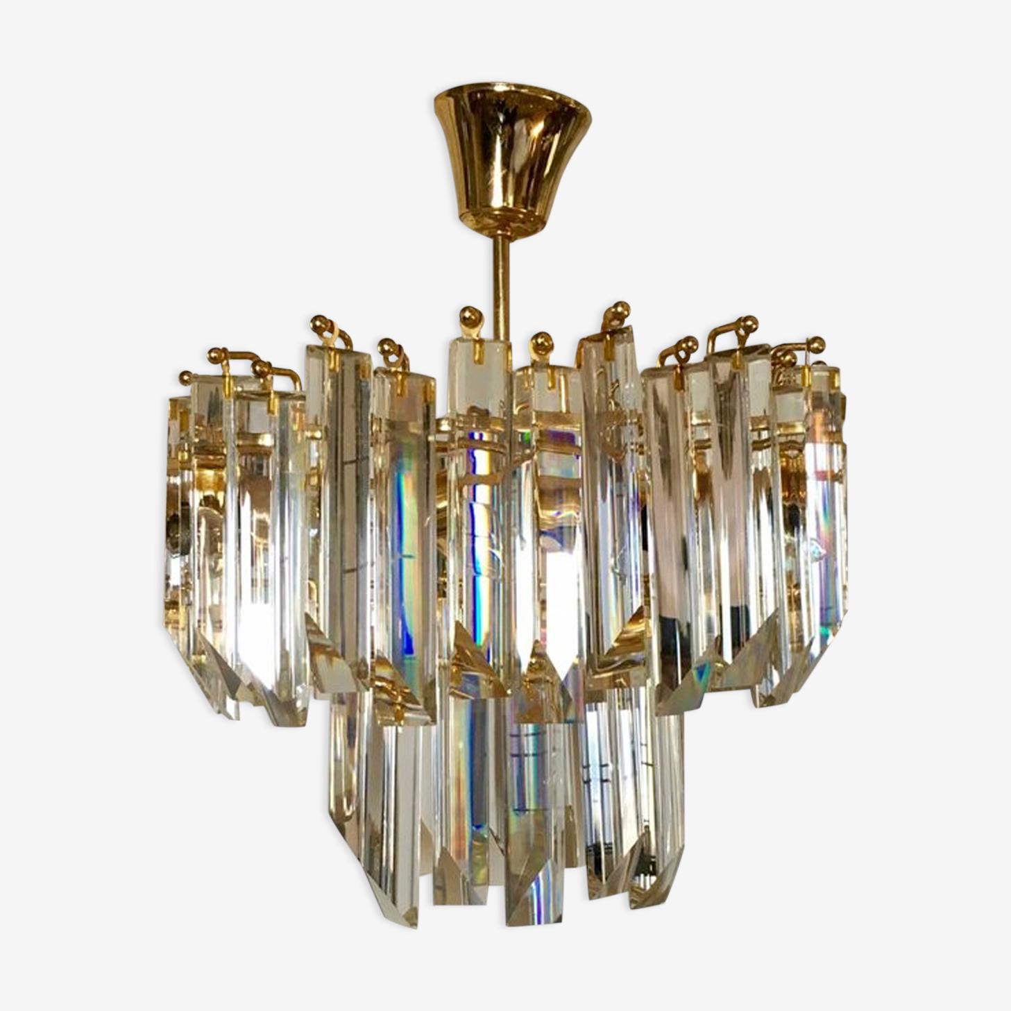 Lustre en cristal de Paolo Venini 1960