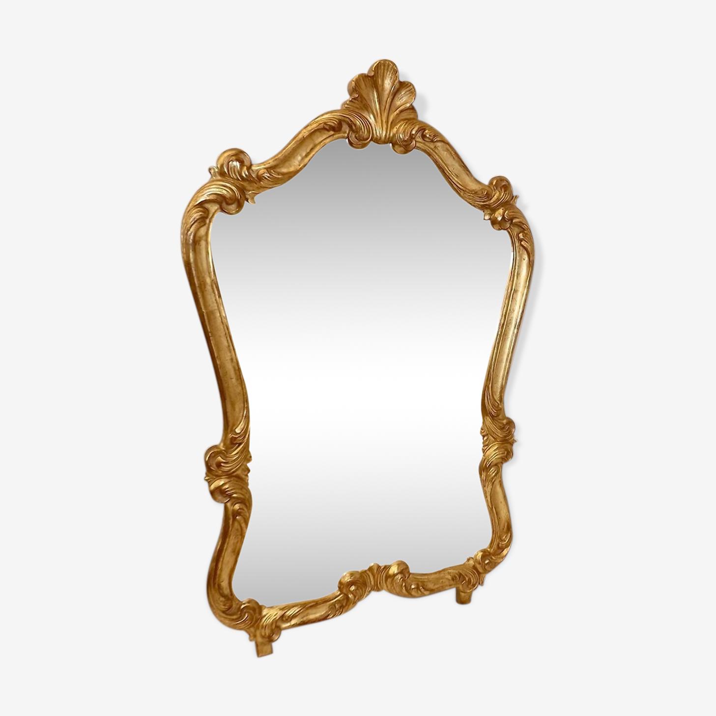 Miroir  de  style  Louis  XV 92x56cm