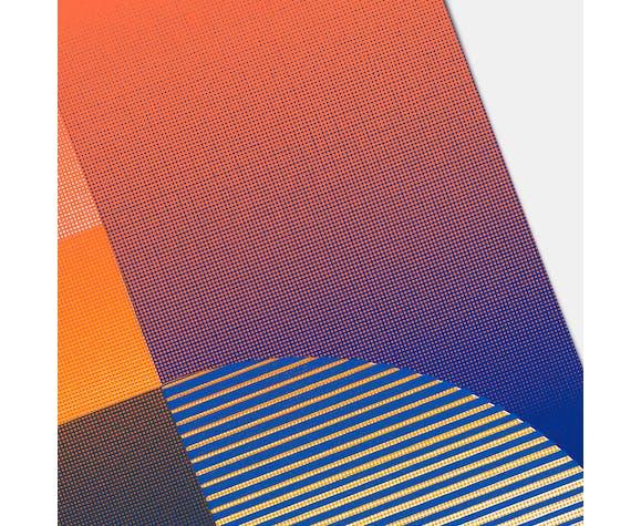 Tangram Slice IV - 50cm x 70cm