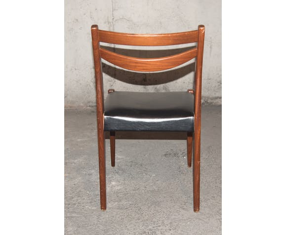 6 Scandinavian chairs 50/60s