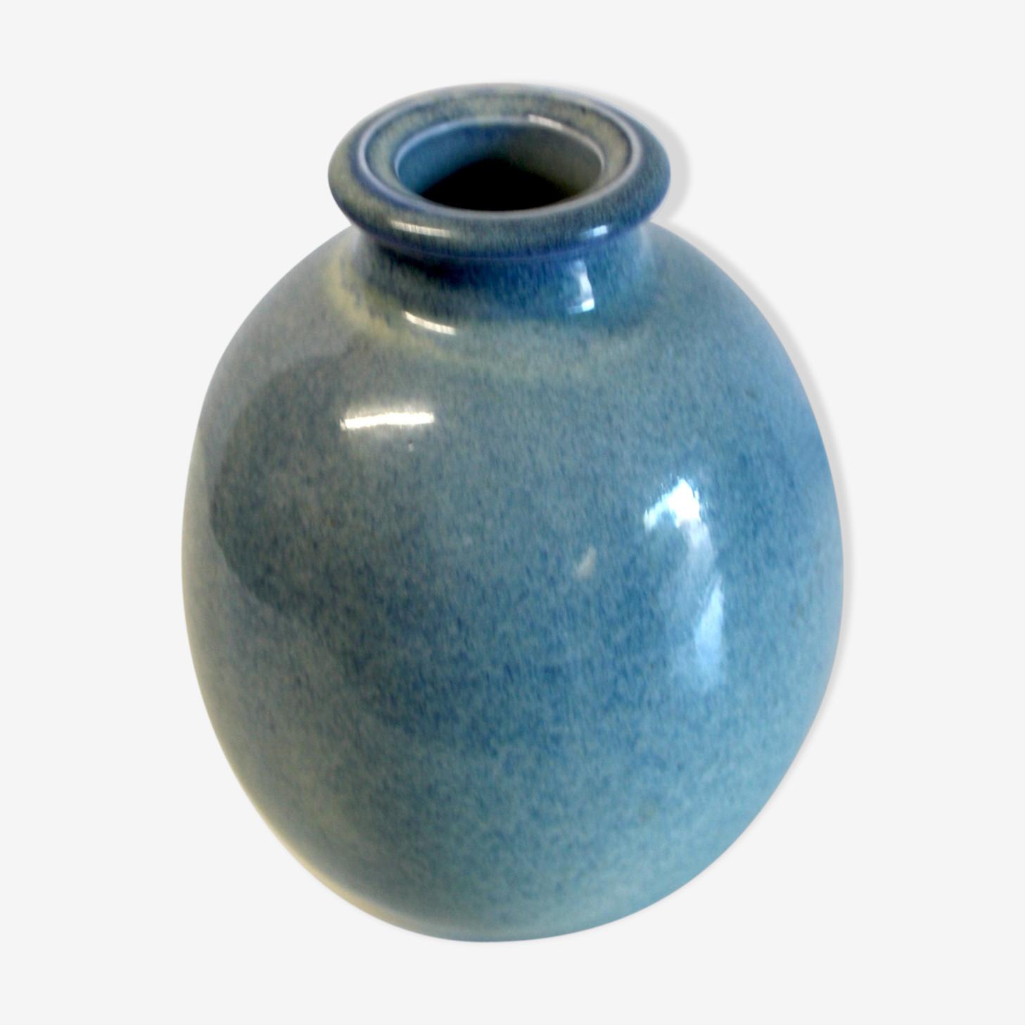 Boulle enameled ceramic vase