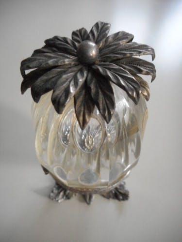 Bonbonnière ananas cristal