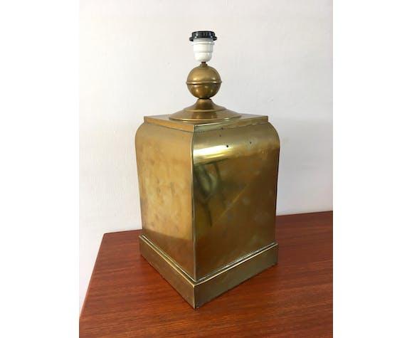 Vintage brass lamp 70