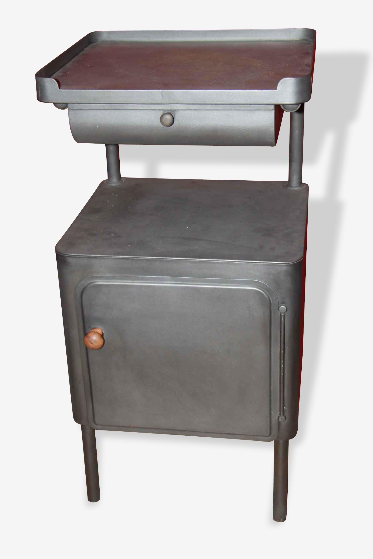 Chevet métal année 60