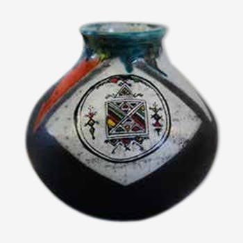 Vase boule berbère