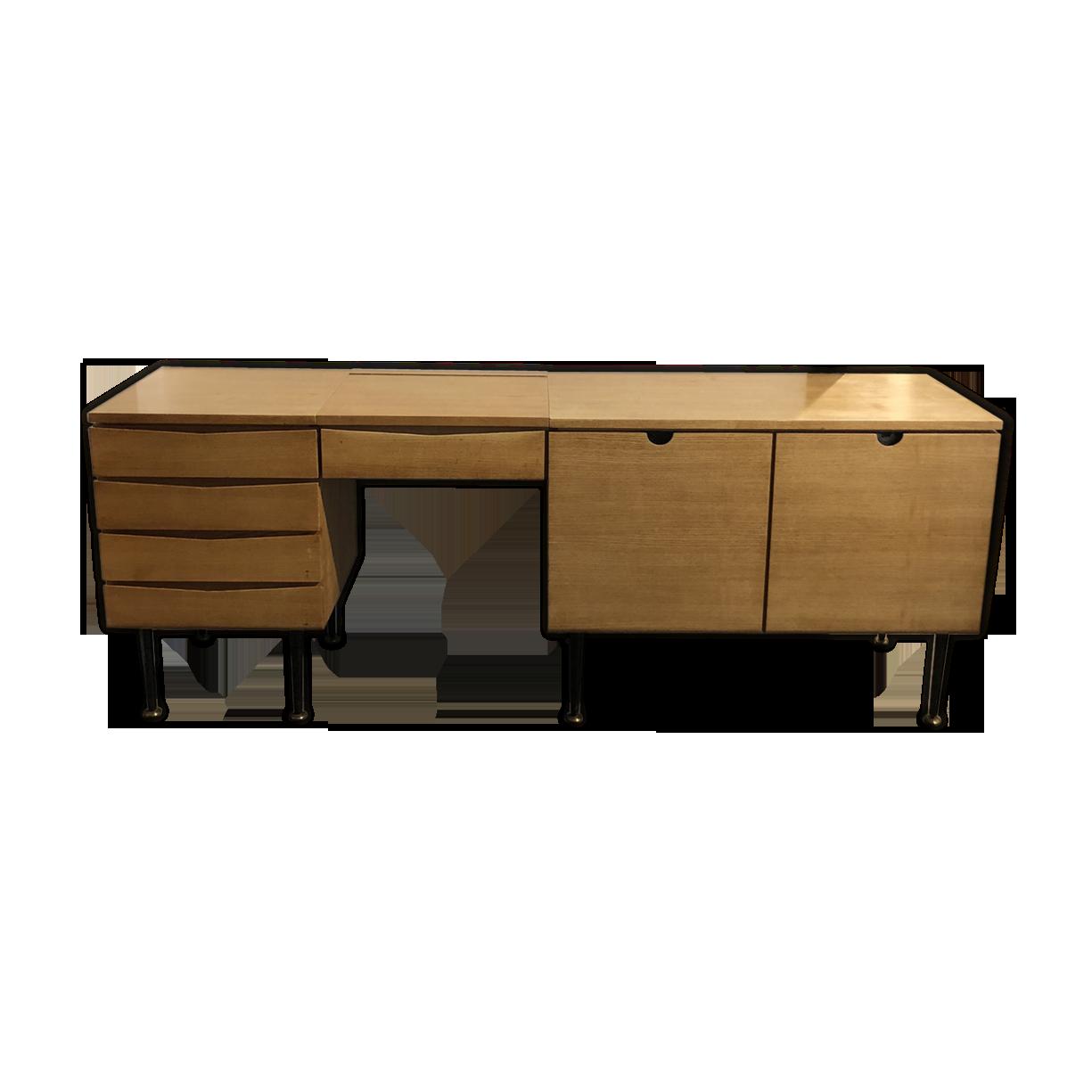 Meuble enfilade bureau coiffeuse bois matériau bois
