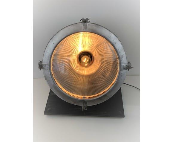 Projecteur holophane 1940 laiton cuivre