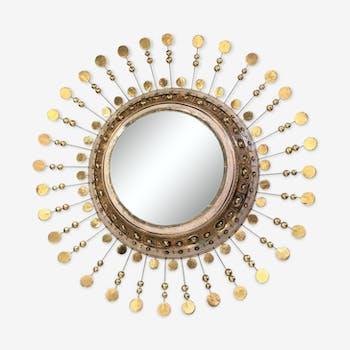 Miroir en céramique Georges Pelletier 60cm