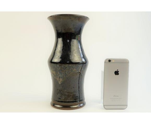 Vase en céramique grès Daniel Auger