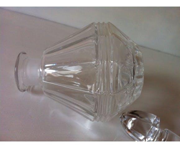 Carafe en cristal taillé