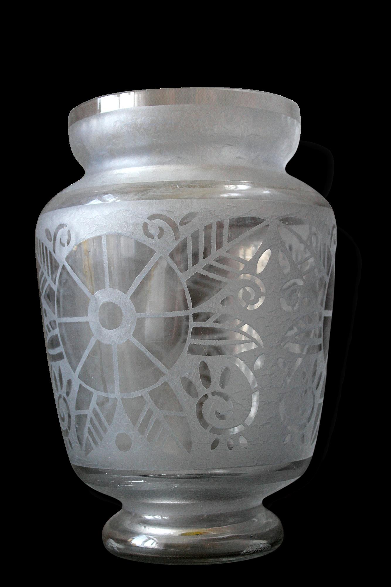 deco dans grand vase en verre amazing trs grand vase art. Black Bedroom Furniture Sets. Home Design Ideas