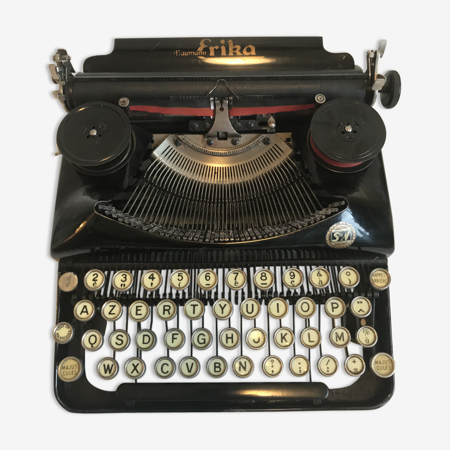 Machine à écrire Erika Naumann
