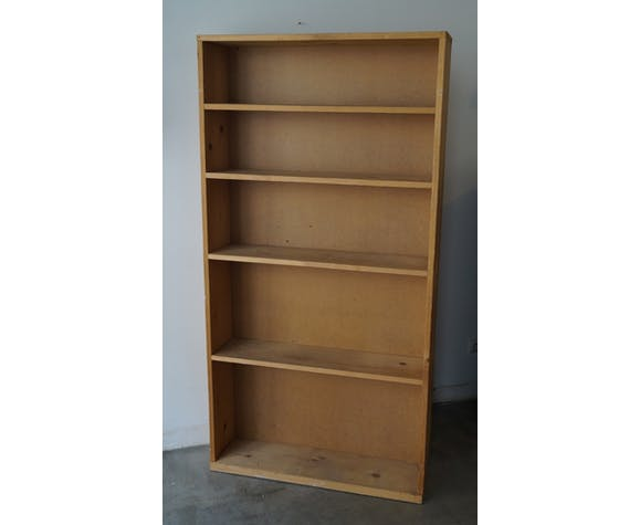 Workshop bookcase 1950