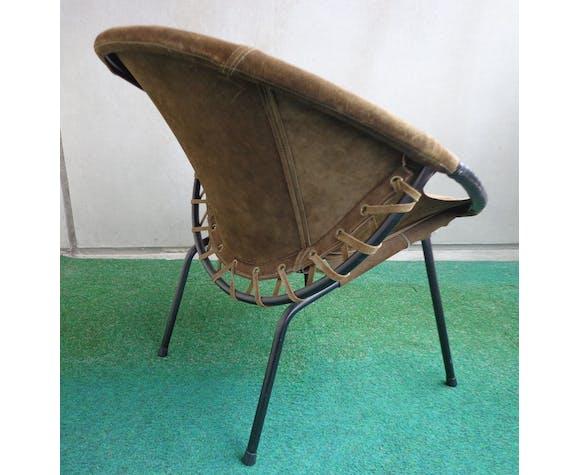 Fauteuil vintage Circle Lush Erzeugnis 1960