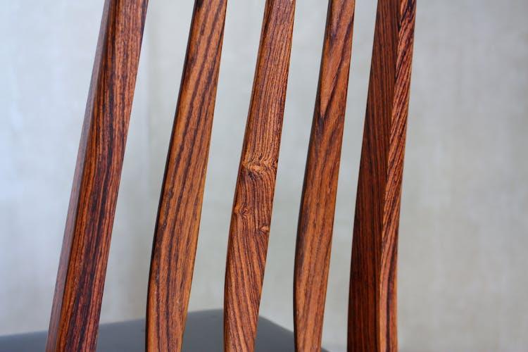 Lot de 4 chaises Eva de Niels Kofoed pour Koefoeds Mobelfabrik, années 1960
