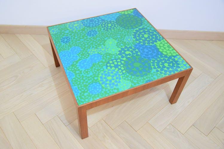 Table basse verte 60/70