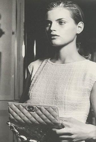 Photo de Karl Lagerfeld pour Chanel collection 1996/1997