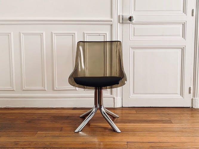 Vintage Space Age plexiglass chair