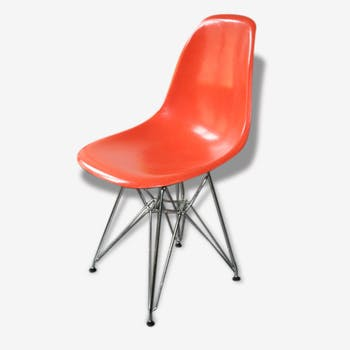 Eames dsr Chair orange Herman Miller
