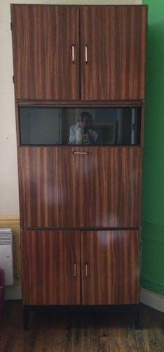 Vintage 1960s secretary