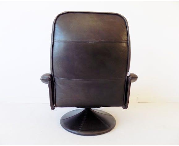 Fauteuil en cuir Thams Kvalitet 1970