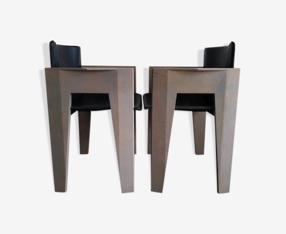 Fauteuils Arco postmoderne des années 1980