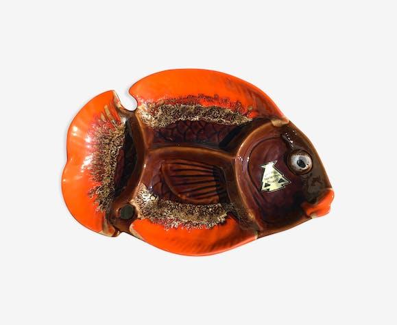 Plat poisson Vallauris vintage
