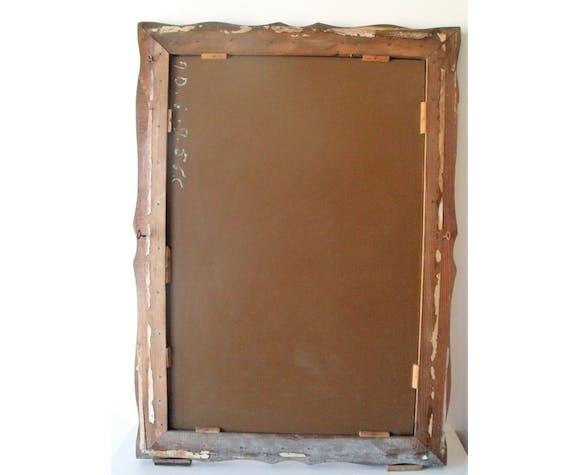 Miroir ancien vénitien 71x99cm
