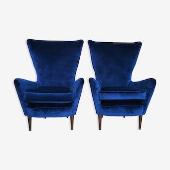 Set of 2 italian armchairs