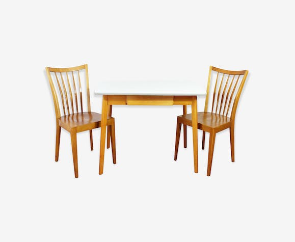 bel ensemble table et chaises scandinave - Ensemble Table Chaise Scandinave