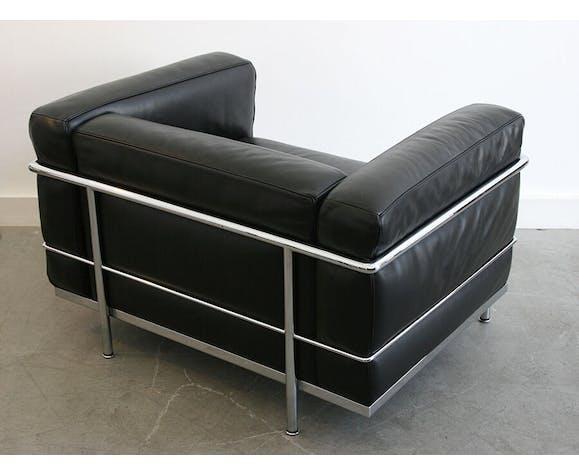 Fauteuil LC3 par Le Corbusier pour Cassina